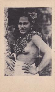 Native Girl Portrait [Topless] , Hawaii , 00-10s