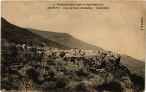 CPA Maroc AOUNOUT - Zouia de Benin-Ourimeches. Vue générale (219073)
