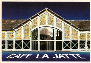 France Advertising Postcard, CAFE LA JATTE, Neuilly-sur-Seine, Paris 21U