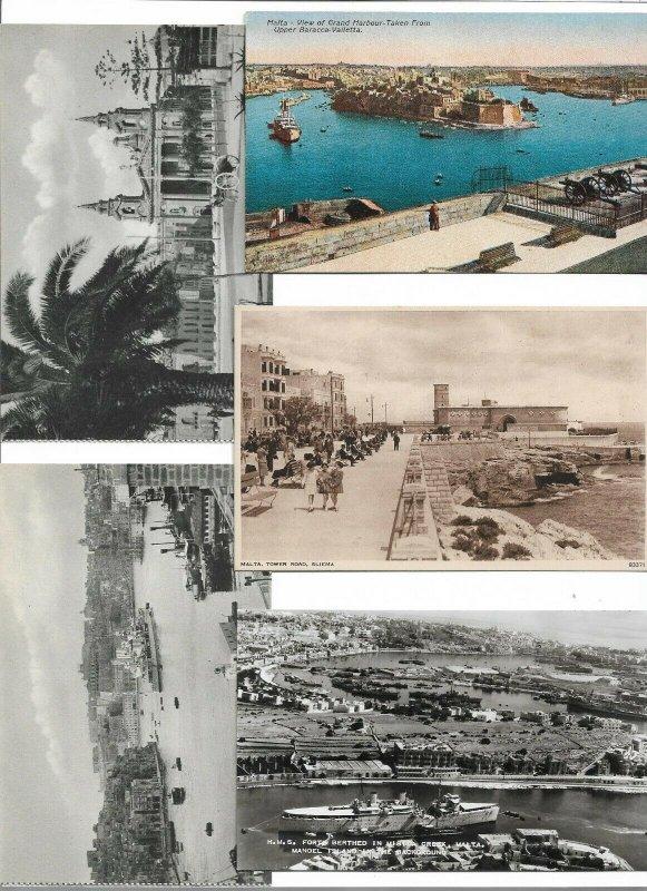 Malta Postcard Lot of 10 01.14