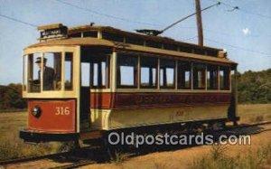 No 316, Criss Cross the Bronx, NY Branford Trolley Museum, Conn, USA Unused