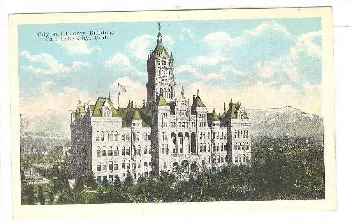 Exterior,City and County Building,Salt Lake City,Utah,00-10s
