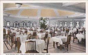 Massachusetts Swampscott Main Dining Hall New Ocean House 1924