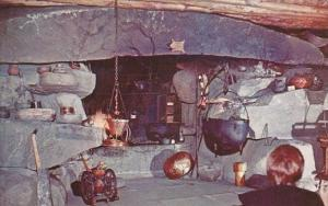 One Of The Tremendous Fireplaces At Frontier Town Montana 1963
