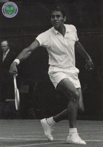 Richard Gonzales American Wimbledon Tennis Champion Legend Postcard