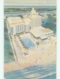 Pre-1980 CADILLAC HOTEL Miami Beach Florida FL HQ3003