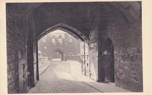 Byward Gate, View Looking Outwards Across The Moat To The Middle Tower, LONDO...