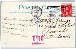postcard Cleveland, Ohio Western Reserve University, Woman's College