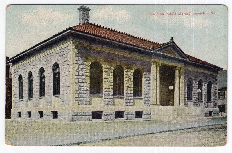 Lewiston, Me, Lewiston Public Library