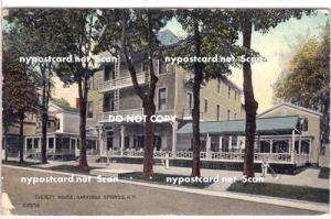 Everett House, Saratoga Springs NY,