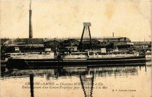 CPA Chalon sur Saone Chantiers Schneider et Cie FRANCE (952697)