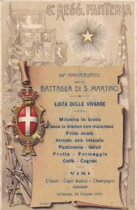 6º Reggimento Fanteria,Coat Of Arms,Rifles,49º Anniversario Della Battaglia...