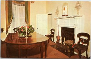 Home of President James Monroe, Ash Lawn Dining Room  Charlottesville VA