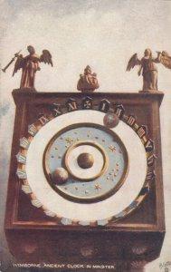 WIMBORNE , England, 1900-10s; Ancient Clock in Minster, TUCK # 7034
