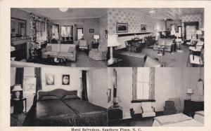 SOUTHERN PINES , North Carolina, 1930s ; Hotel Belvedere, multi-views