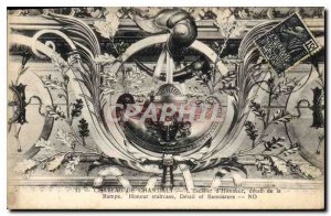 Old Postcard Chateau de Chantilly The Honor Detail Staircase Ramp Honor Stair...