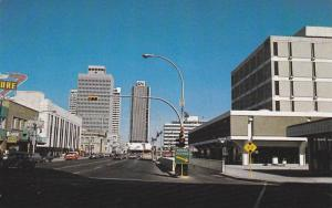 A Most Impressive View- Looking North On 100th St., Edmonton, Alberta, Canada...