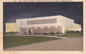 South Carolina Greenville Bob Jones University Museum And Gallert At Night
