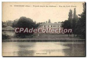 Postcard Old West Facade Versigny View Du Chateau Du Petit Etang