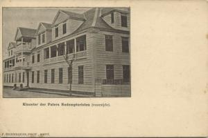 suriname, PARAMARIBO, Convent Redemptorist Fathers 1899