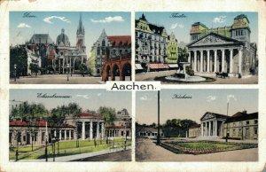 Germany Aachen Dom Theater Elisenbrunnen Kurhaus 04.26