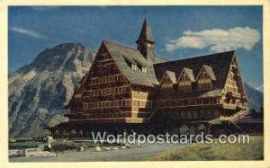 Waterton Lake Canada, du Canada Prince of Wales Hotel Waterton Lake Prince of...