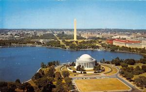 USA Washington D.C. Aerial view Jefferson Memorial