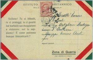 91998  - CARTOLINA d'Epoca -  Militare I Guerra PROPAGANDA 1918