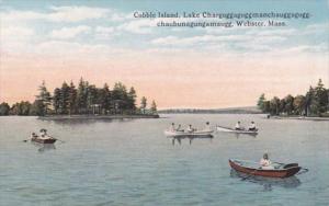 Massachusetts Webster Cobble Island  Curteich