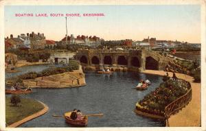 Skegness Boating Lake South Shore Postcard