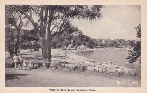 Massachusetts Rockport Vista At Back Beach Albertype