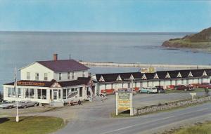 Hotel-Motel Du Rocher, Highway 6, MEDELEINE CENTRE, Quebec, Canada, 40-60's