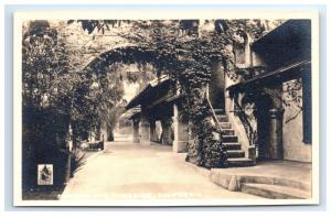 Postcard Mission Inn, Riverside, CA 1930-40's RPPC D6
