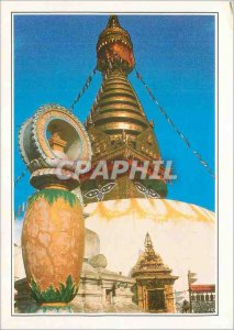 Postcard Modern Nepal Stupa