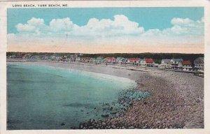 Maine York Beach Long Beach 1931