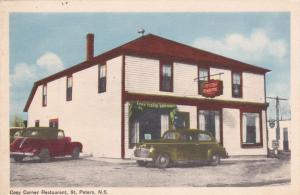 ST PETERS , Nova Scotia , Canada , 30-40s ; Cosy Corner Restaurant