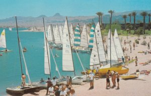 Lake Havascu City , Arizona , 1984 ; Catamarans