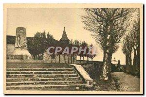 Postcard Old St Leonard Haute V War Memorial Chapel Old Champenain
