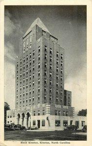 Postcard Hotel Kinston, Kinston, NC Posted 1942