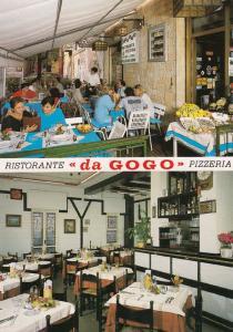 Da Gogo Pizza Restaurant Pietra Ligure Portugal 1980s Postcard