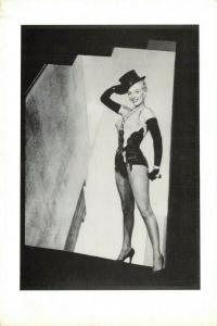 Vintage 1987 Postcard Marilyn Monroe by Shoot That Tiger 43V