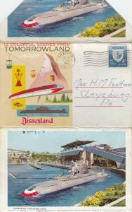 DISNEYLAND , Tommorrowland , PU-1961 ; Anaheim , California