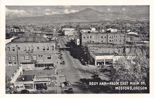 Medford OR Richfield Gas Station Store Fronts Street View Postcard