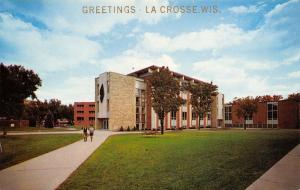 La Crosse Wisconsin State University~Co-Eds Take Path From Student Union 1950s