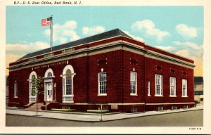 New Jersey Red Bank Post Office 1956 Curteich