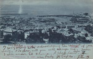 Panorama dal Castellaccio, GENOVA, Liguria, Italy, 00-10s