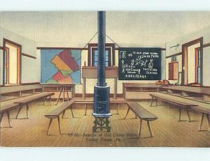 Unused Linen SCHOOL BUILDING Valley Forge Pennsylvania PA J8243