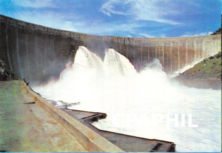 Postcard Modern Below the mighty Kariba Dam Wall, Zimbabwe