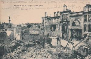 France Reims Rue de l'Etape Etape Street 1927