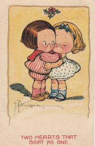 Grace DRAYTON-WIEDERSEIM, 1900-10s; Child couple, Two Hearts that Beat as One